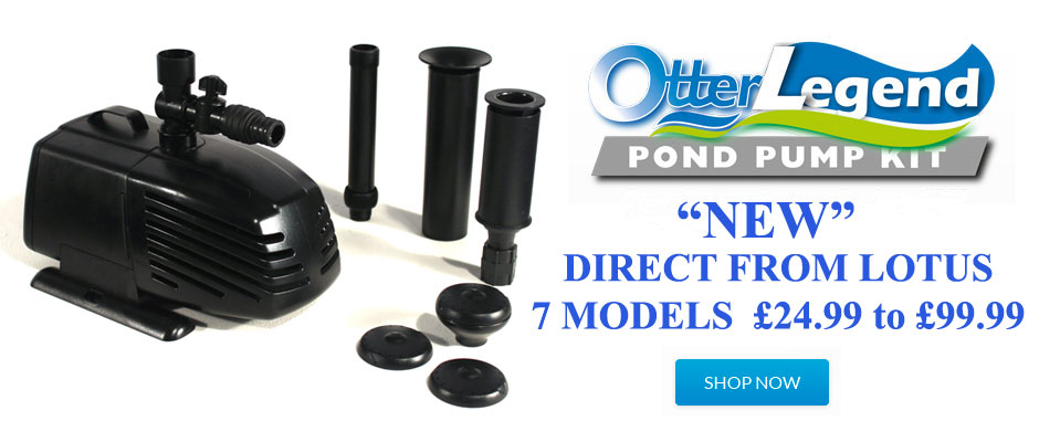 Lotus Otter Legend Pond Pumps