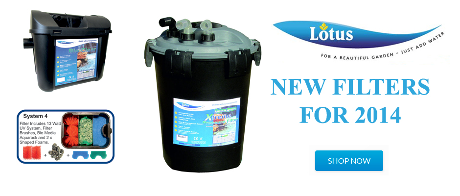 New Lotus Pond Filters
