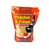 Peaches and Cream Pond  Sticks 1000 gms